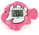 341308-ELECTONIC BATH & ENVIRONMENT THERMOMETER PINK