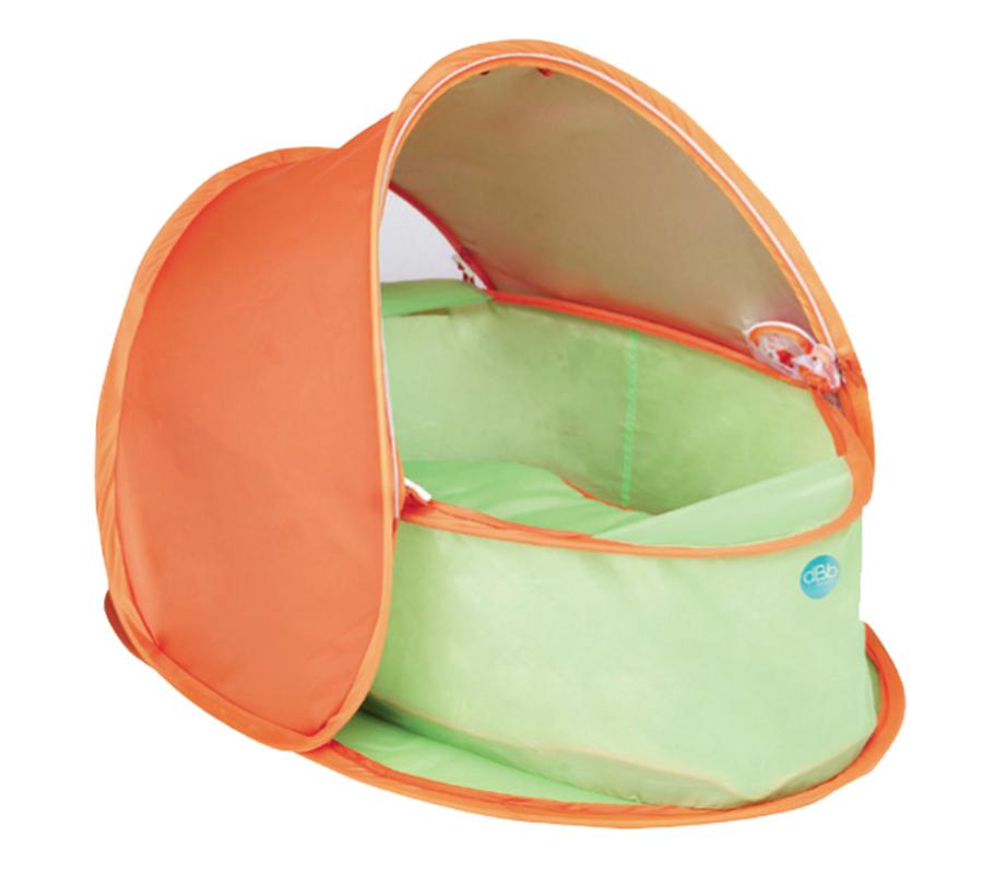 ANTI-UV « POP UP » BABY-BASKET & MATTRESS