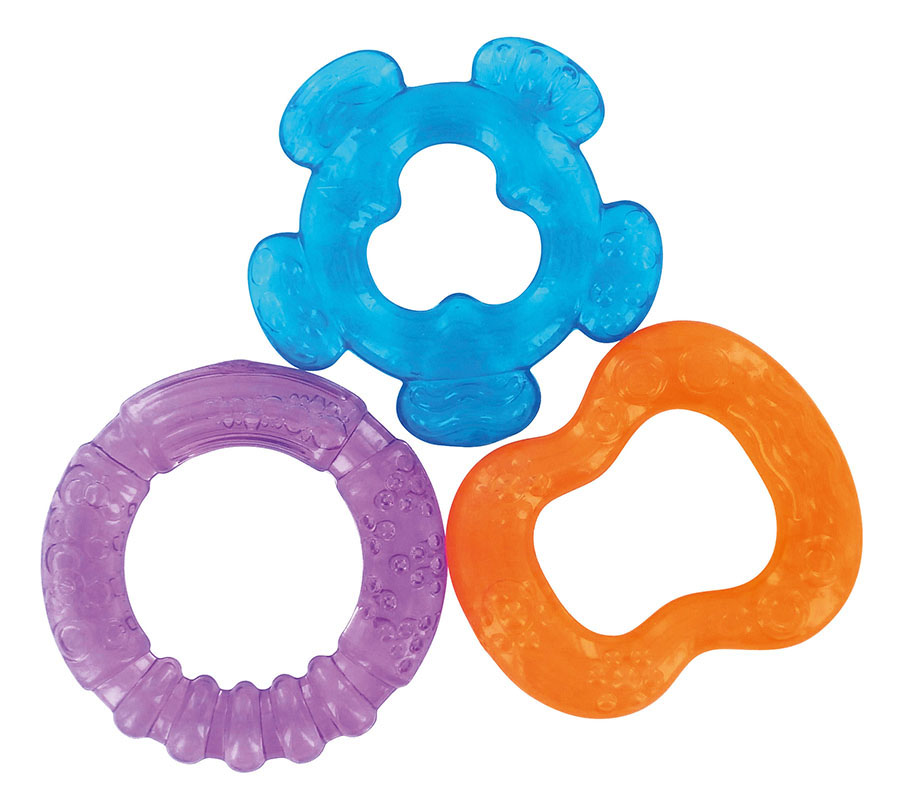 3 TEETHING RINGS TO BE REFRESHED