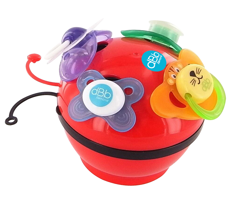 """""""LADYBIRD"""" SOOTHERS STORAGE BOX"""