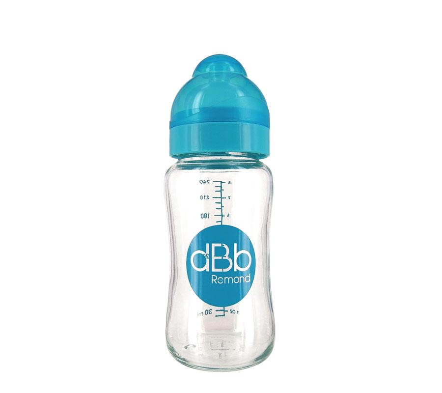 WIDE OPENING BABY BOTTLE IN GLASS – 8 OZ