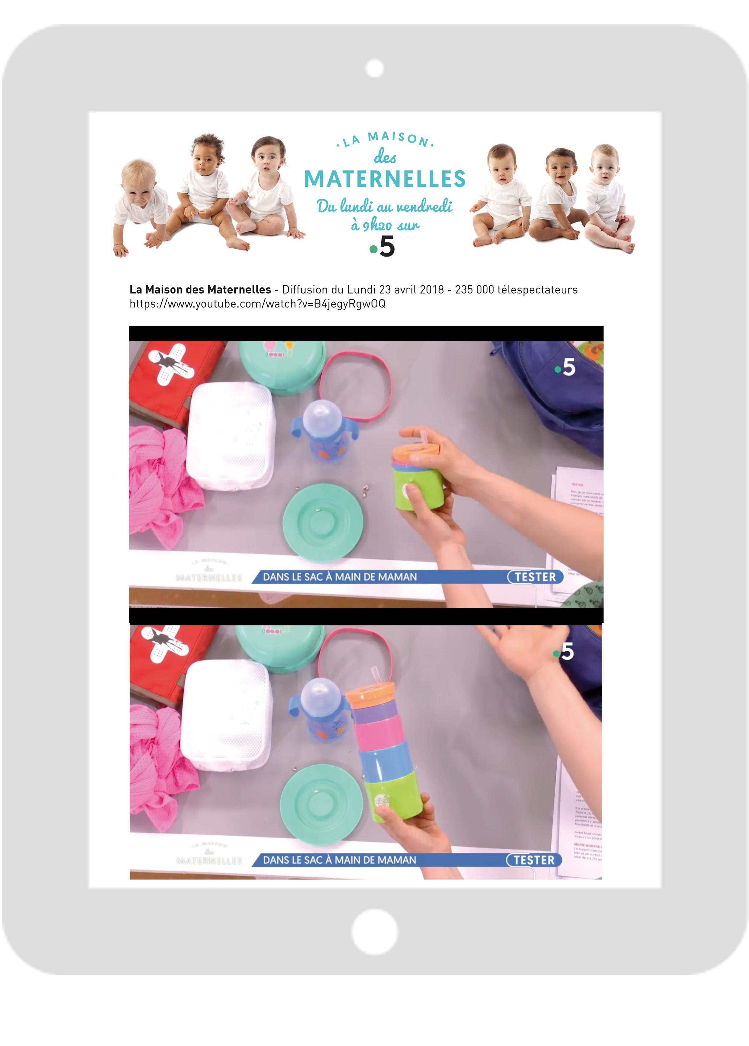Les Maternelles-Gobelet télescopique
