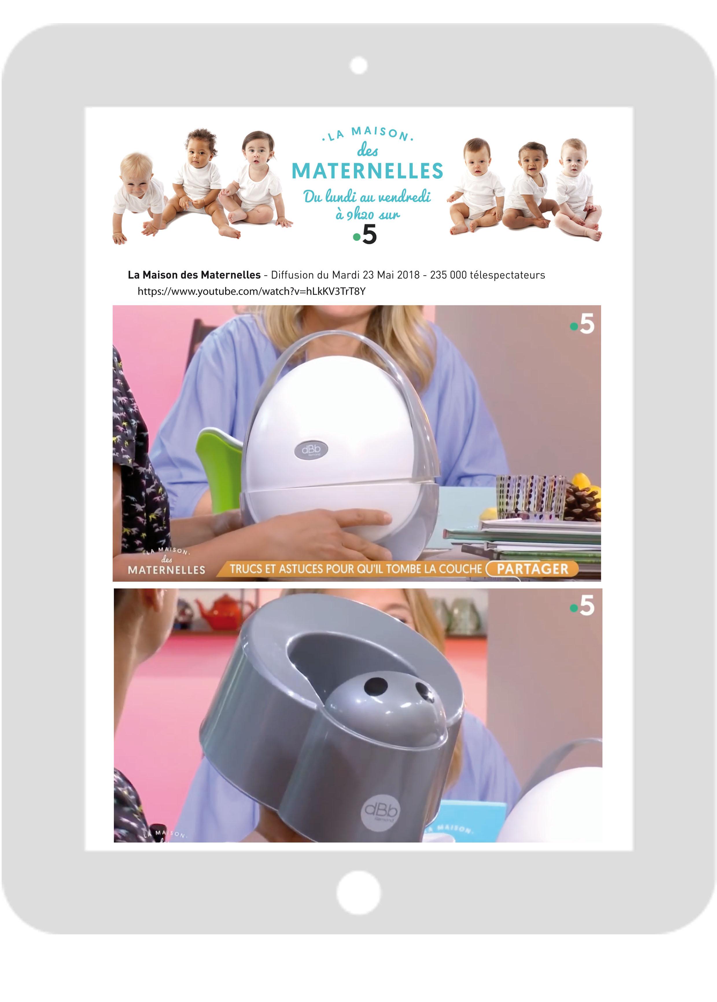 Les Maternelles-Pot bébé