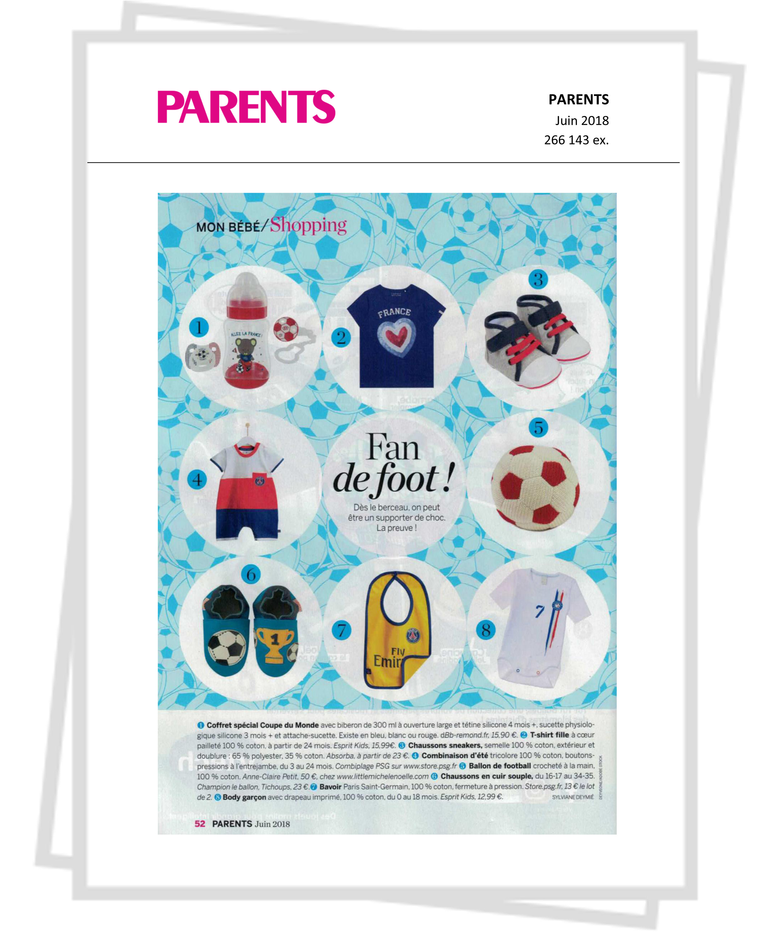 PARENTS-Coffret foot